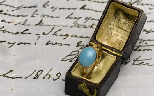 Turquoise Jane Austen ring sells for £150,000 at auction
