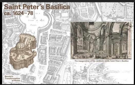 サン・ピエトロ大聖堂: 5人の枢機卿の就任式