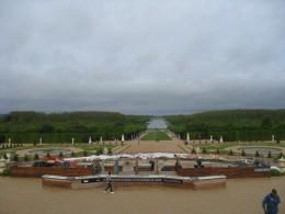Versailles Garden Latona Fountain under construction