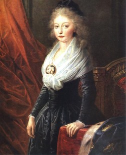 Marie-Thérèse in Vienna in 1796 soon after her departure from Revolutionary France.
