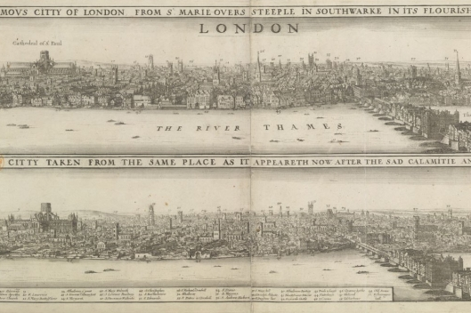 London before/after 1666